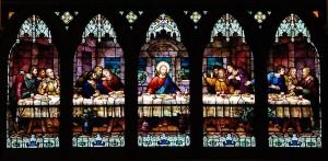 the-last-supper-window-kristine-mcnamara