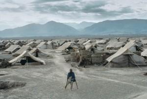 Nasir Bagh refugee camp near Peshawar, Pakistan. 1985.