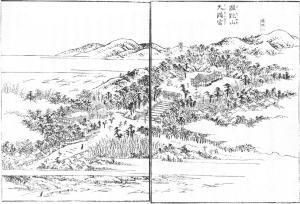 河内名所図会_蹉跎山天満宮